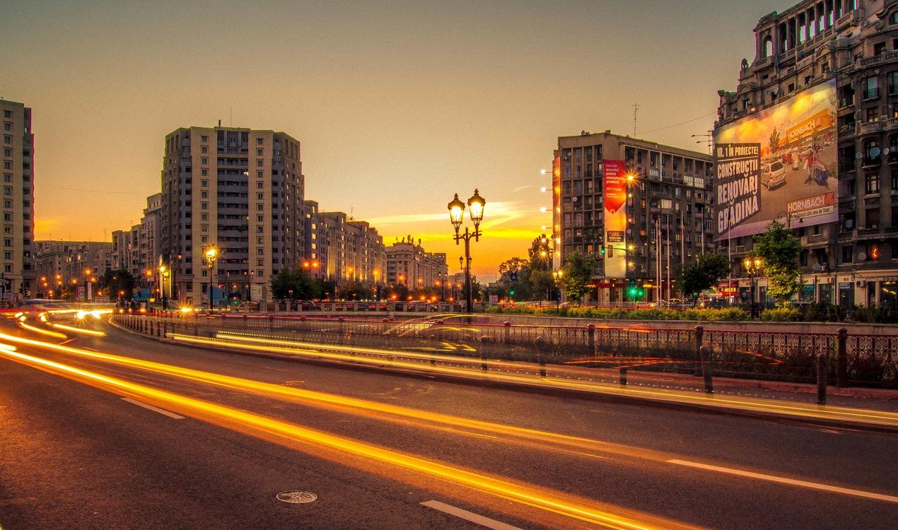 Evening,Metropolitan Area,Residential Area