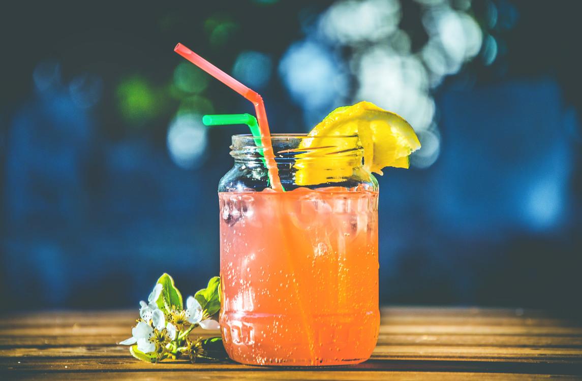 Non Alcoholic Beverage,Harvey Wallbanger,Cocktail