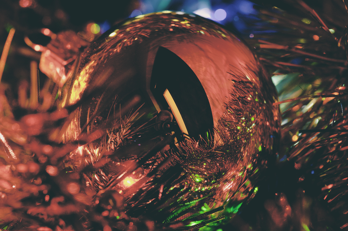 Christmas Decoration,Close Up,Light