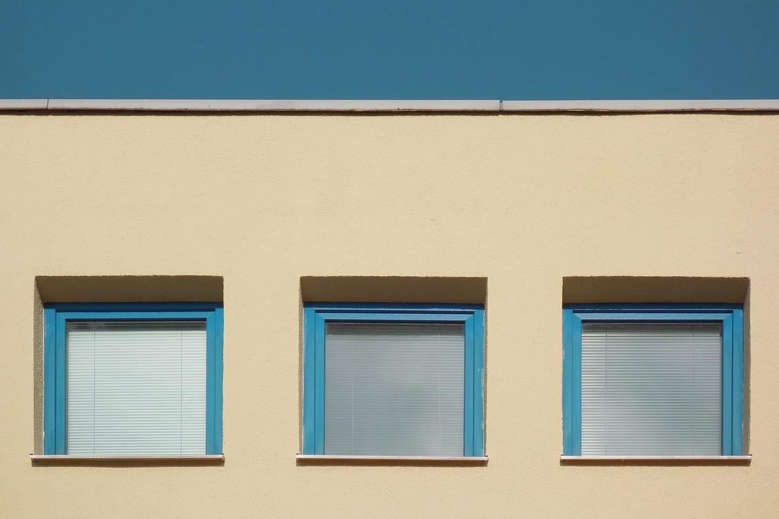 Blue,House,Sky