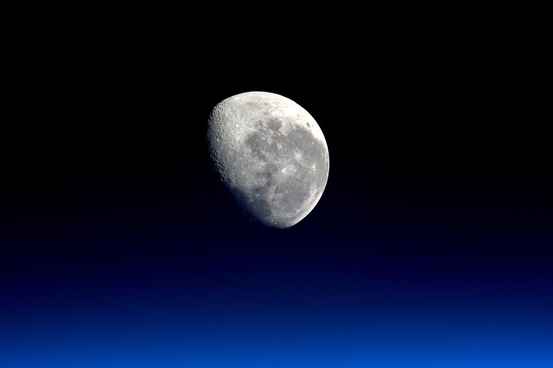 Planet,Atmosphere,Full Moon