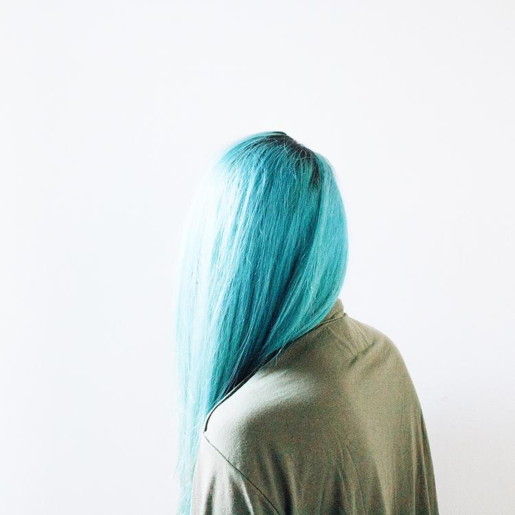 Shoulder,Wig,Turquoise