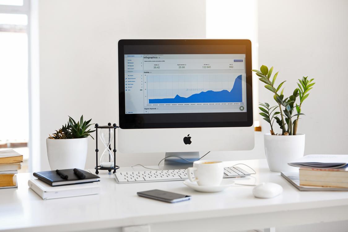 Computer Monitor,Office,Flat Panel Display