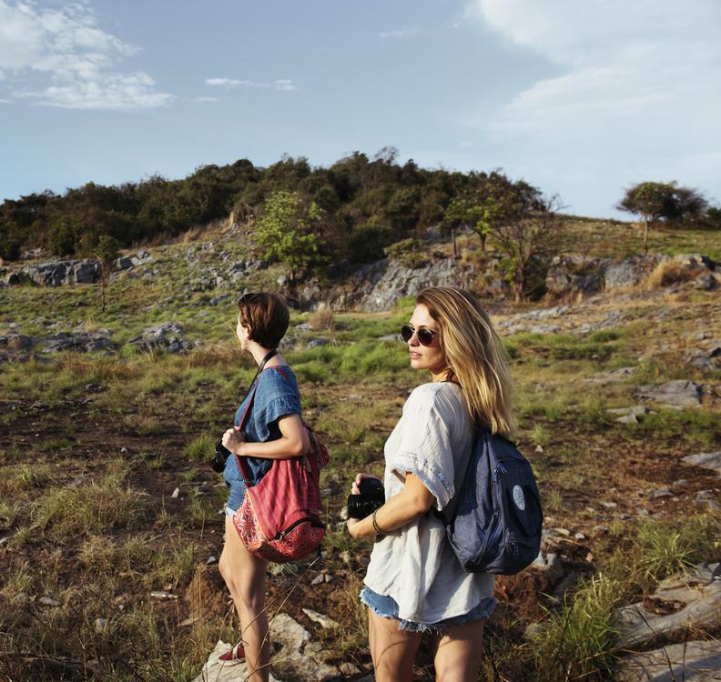 Walking,Wilderness,Shrubland