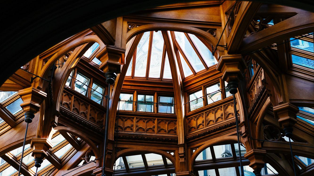Building,Ceiling,Symmetry