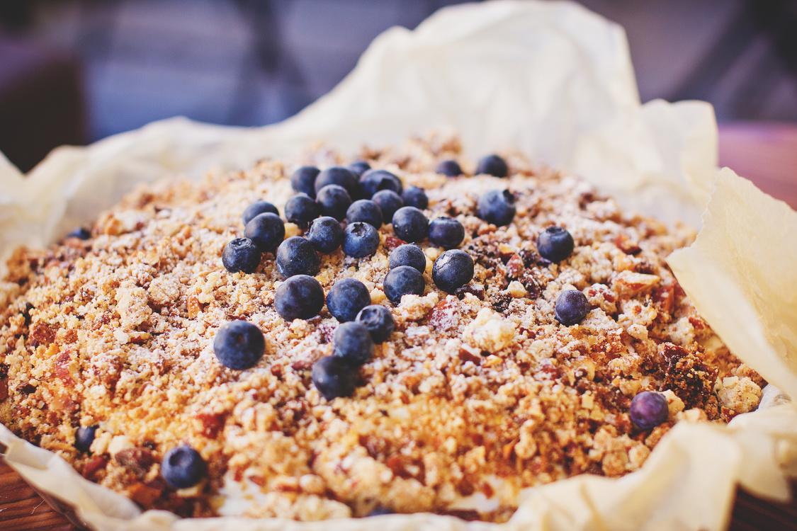 Vegetarian Food,Baking,Blueberry Pie