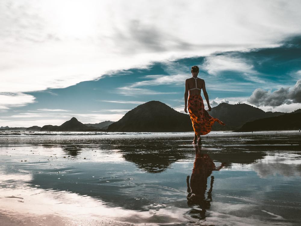 Stock Photography,Reflection,Coast