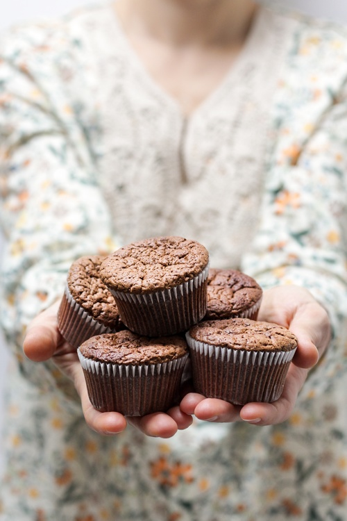 Cream,Muffin,Icing