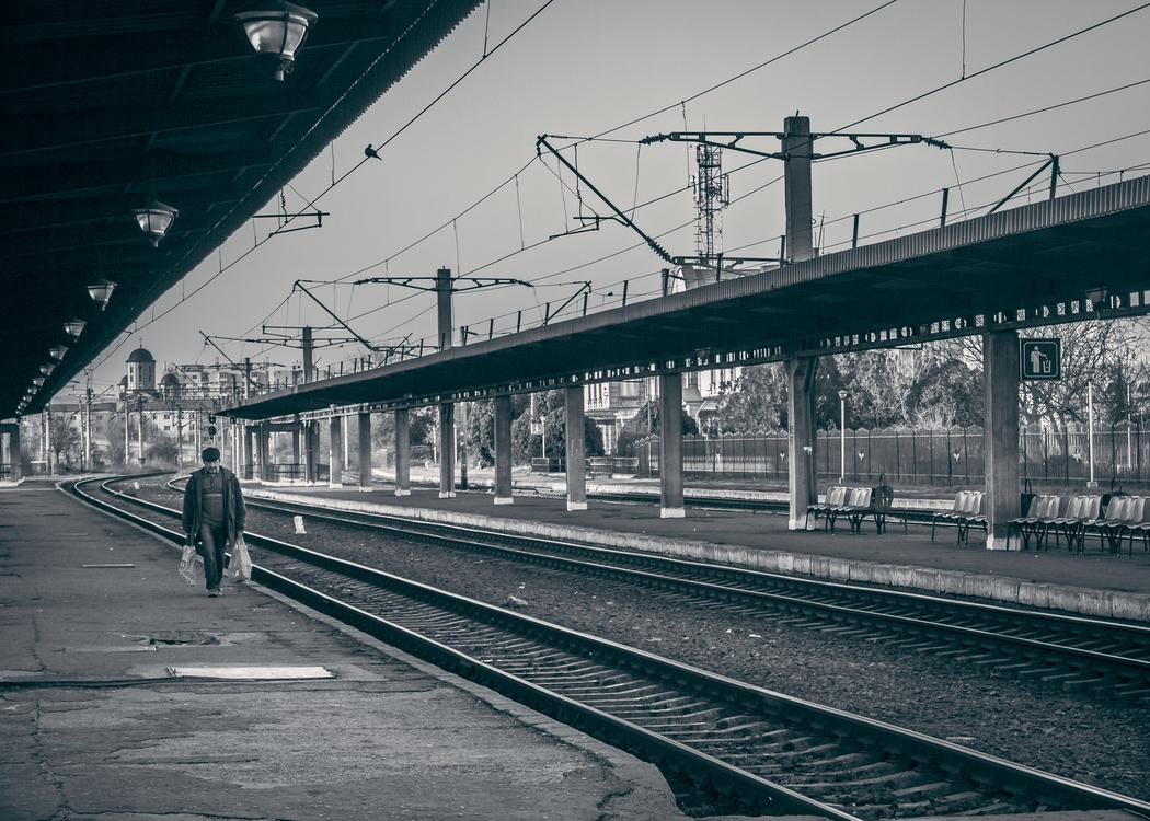 Overpass,Rolling Stock,Rail Transport