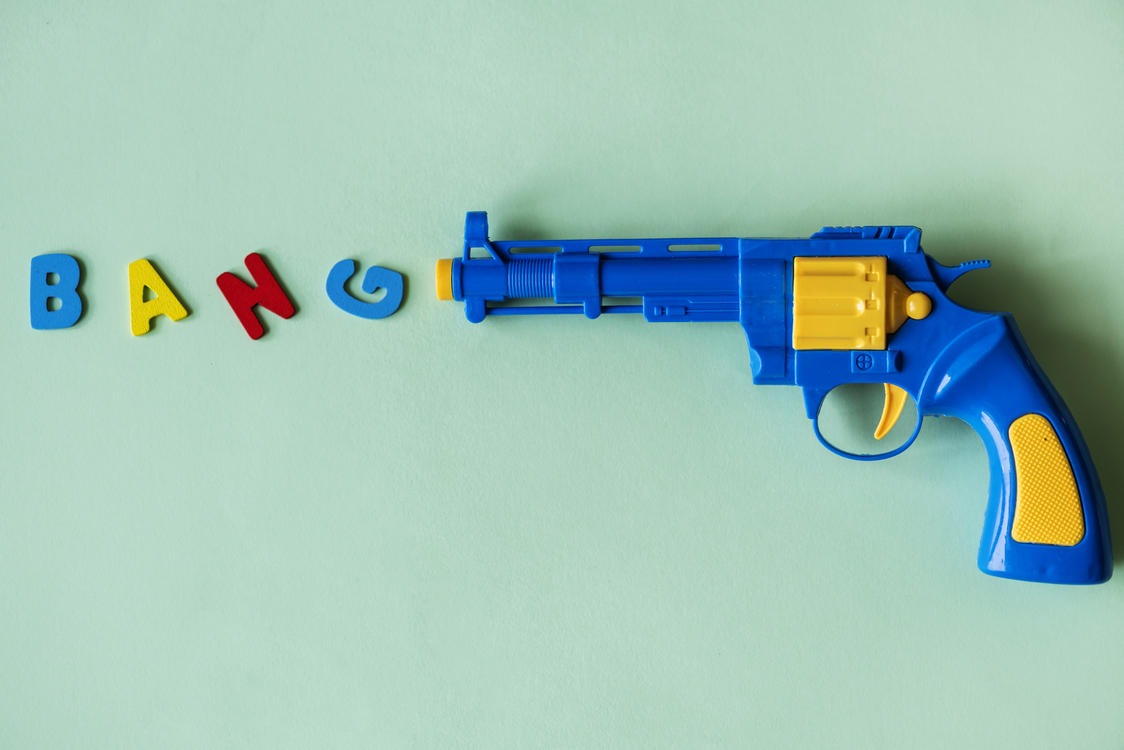 Weapon,Gun,Yellow