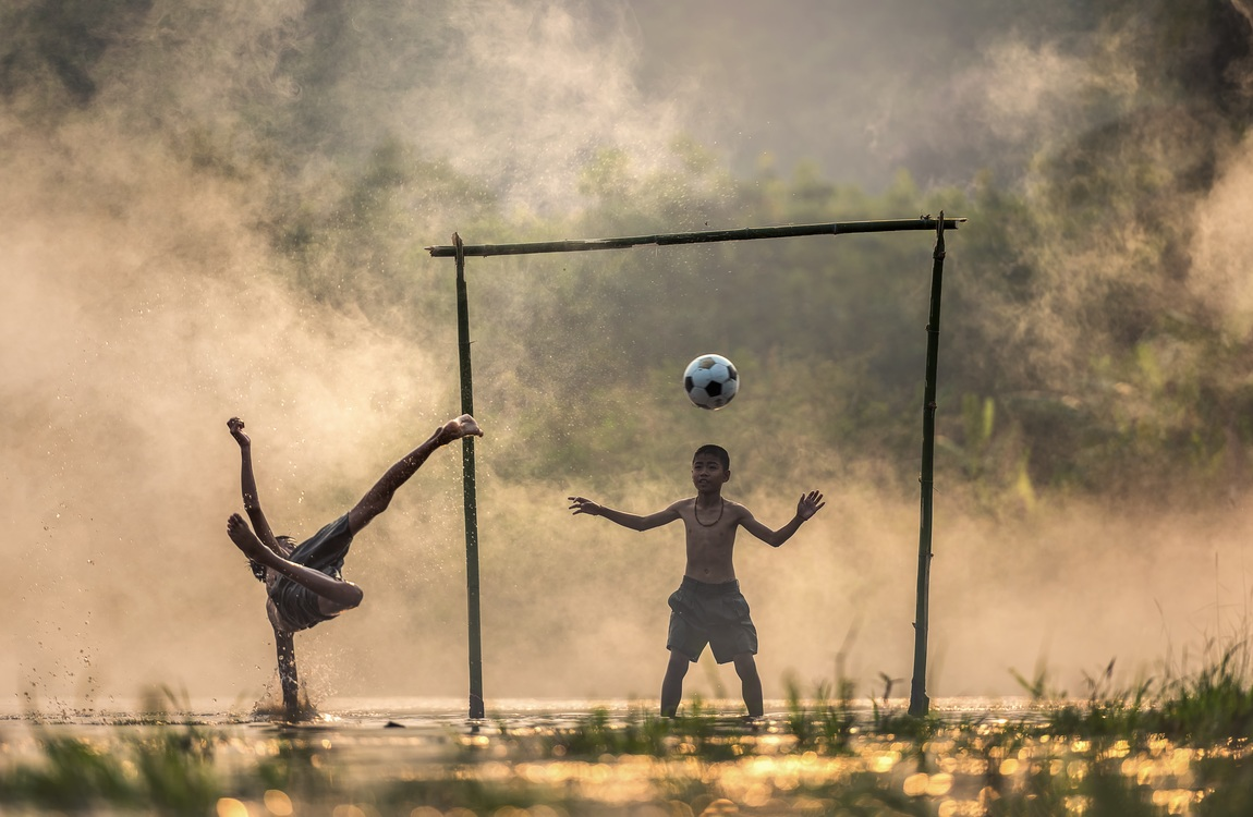 Learning the beautiful game football goal free images download.