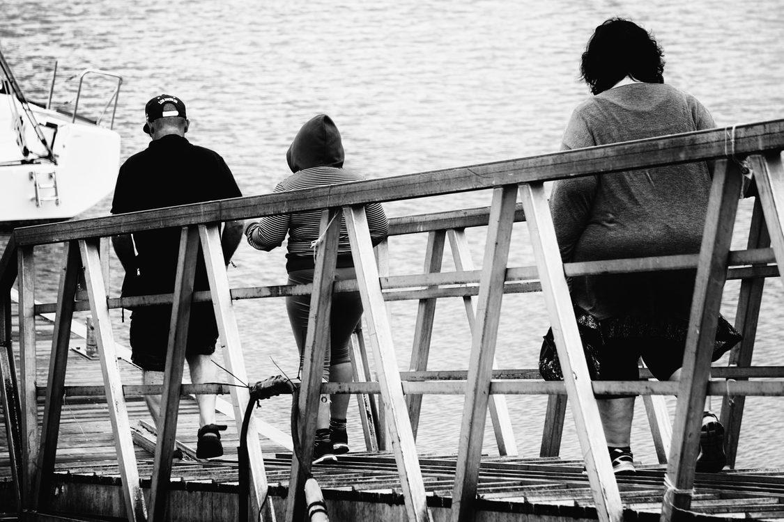 Sitting,Monochrome Photography,Photography