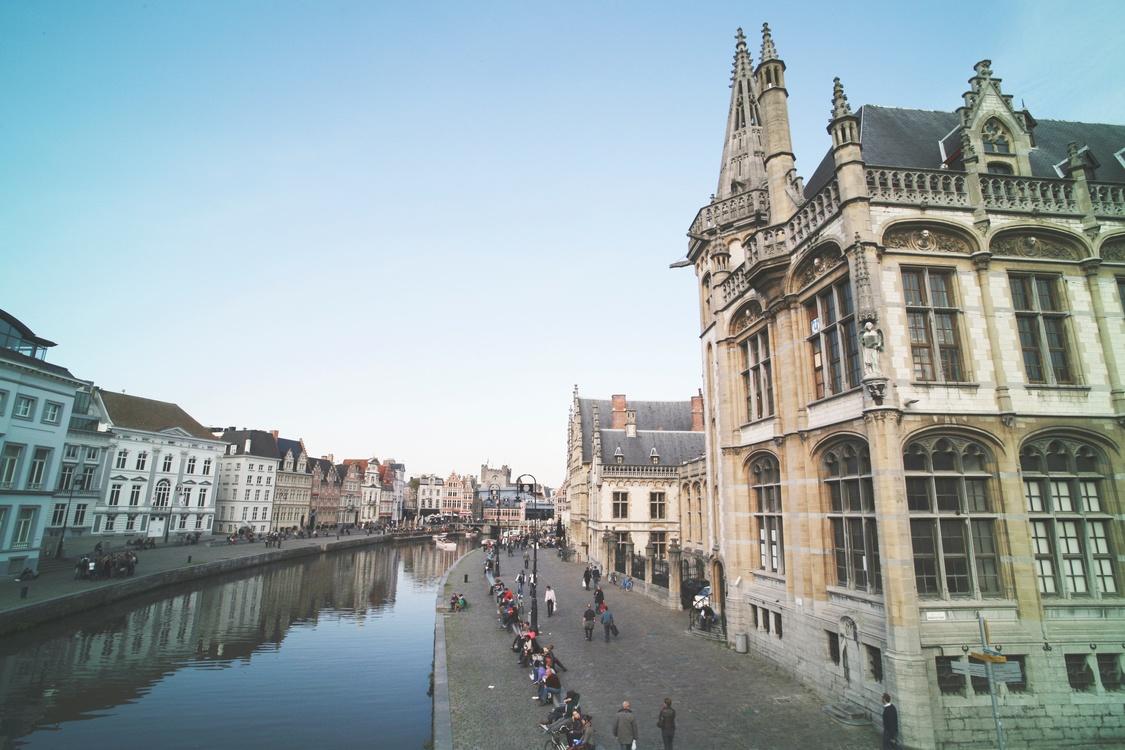 Town,Canal,Metropolis