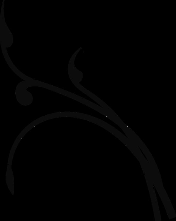 Line Art,Silhouette,Leaf