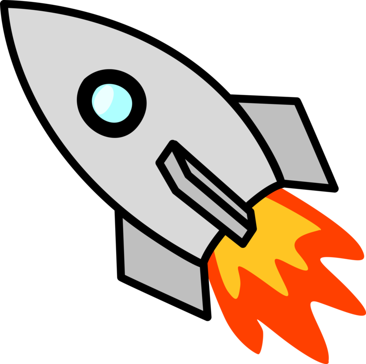 Spacecraft Rocket launch Computer Icons Download CC0 - Angle,Area