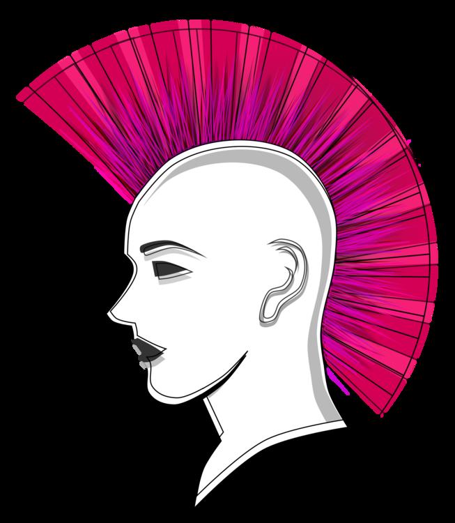 Art,Headgear,Magenta