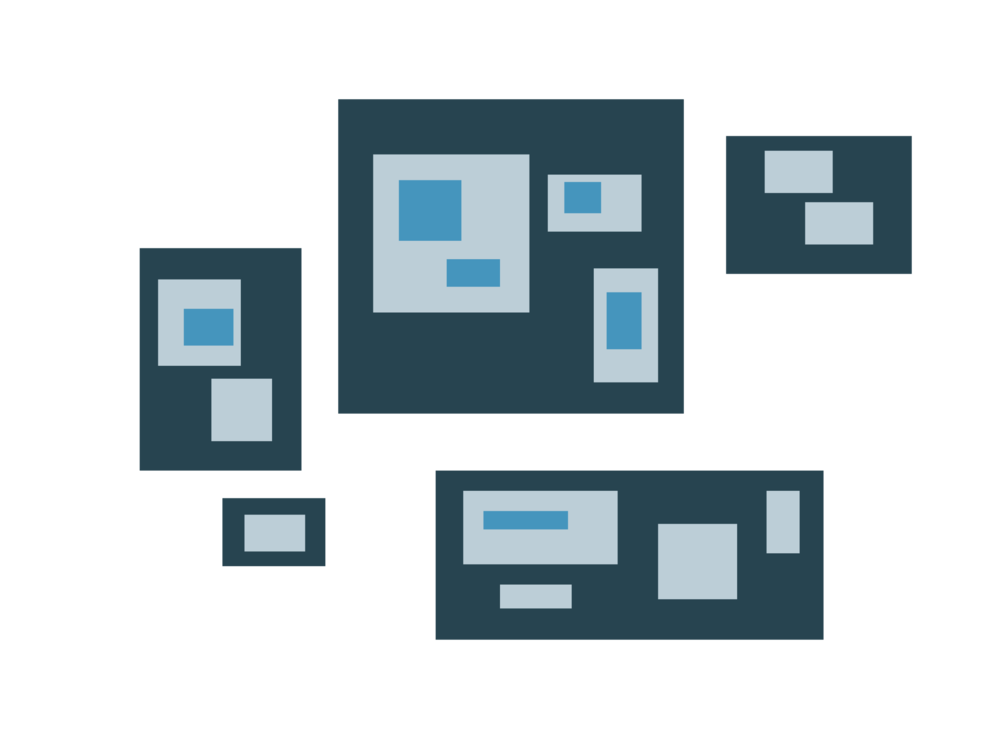 Blue,Diagram,Square