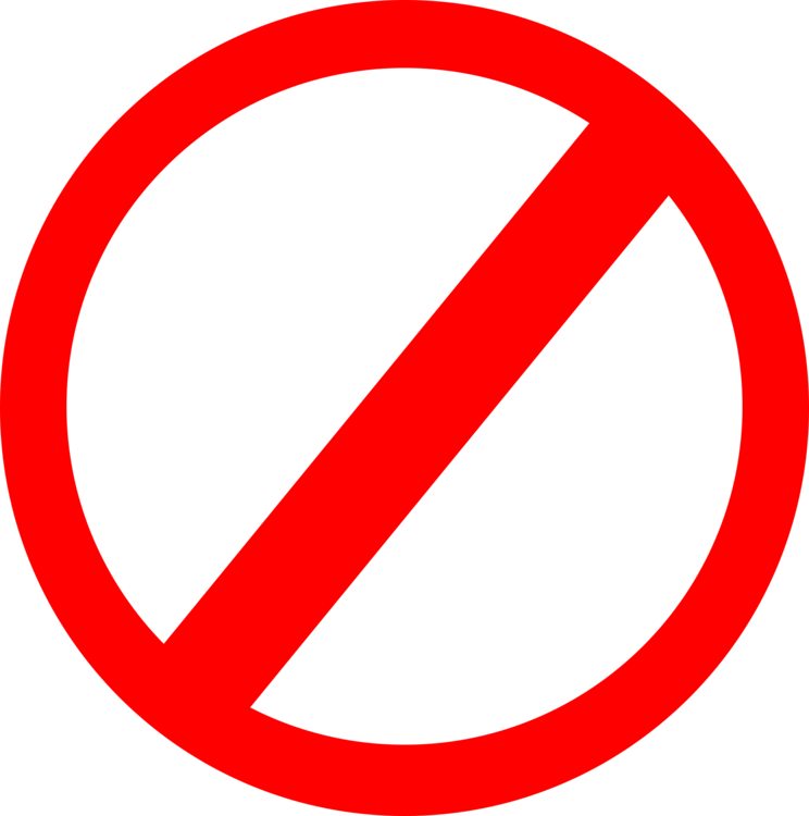 No Symbol Computer Icons Traffic Sign Free Commercial Clipart