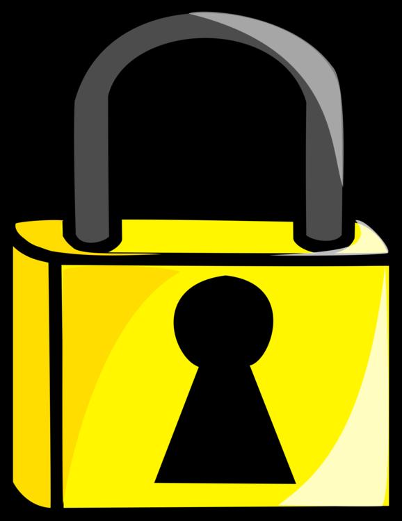 Lock,Yellow,Padlock