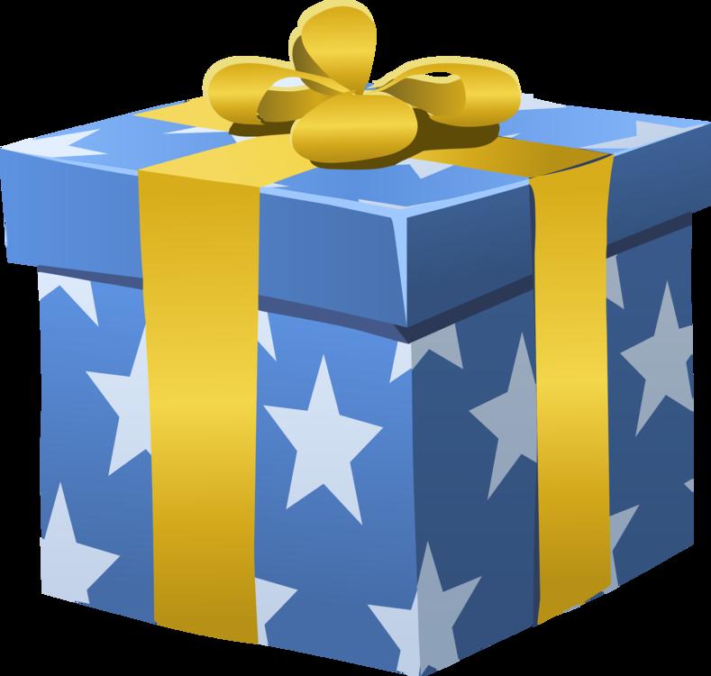 Box,Gift,Yellow