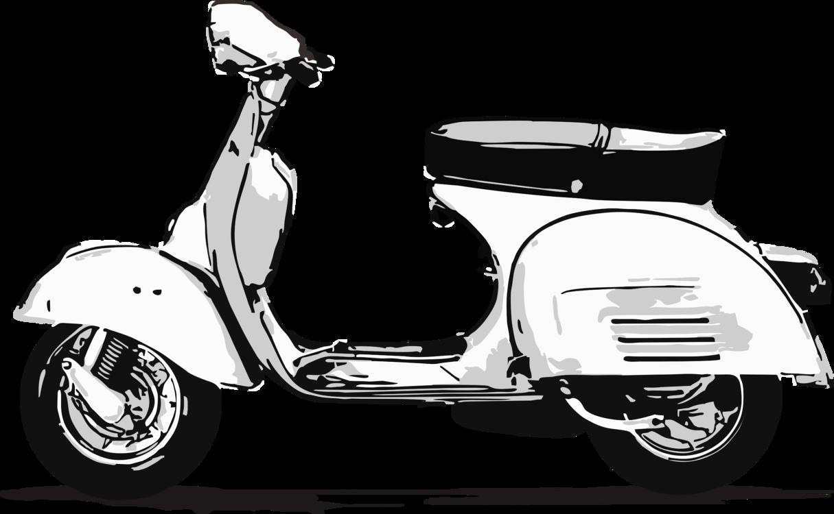 Vespa,Motorized Scooter,Car