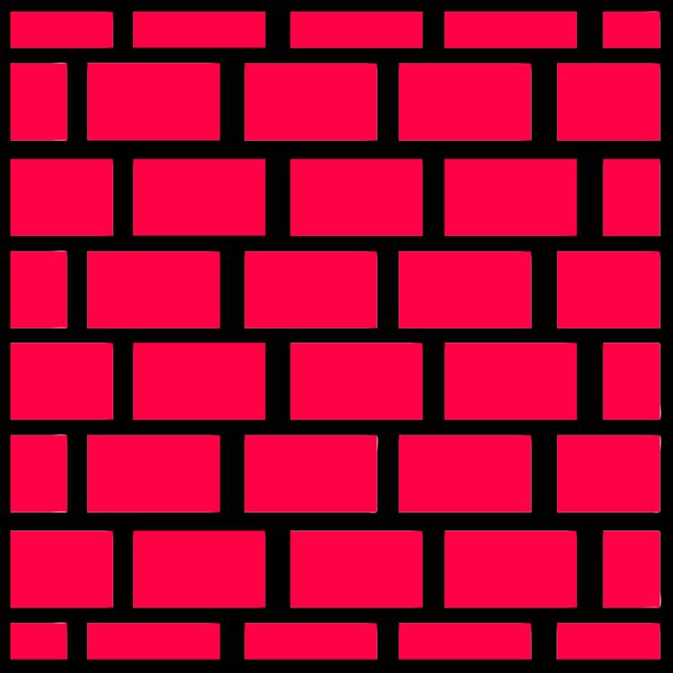 Pink,Brickwork,Square