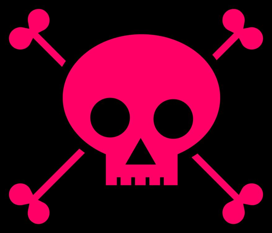Pink,Magenta,Skull