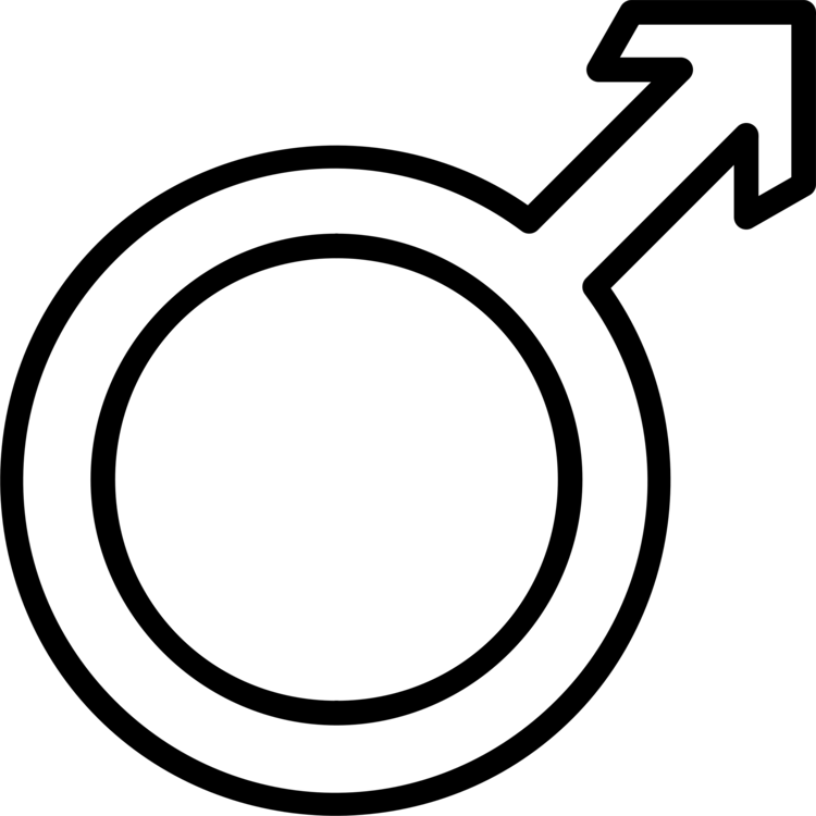 Gender Symbol Male Sign Man Free Commercial Clipart Malemale