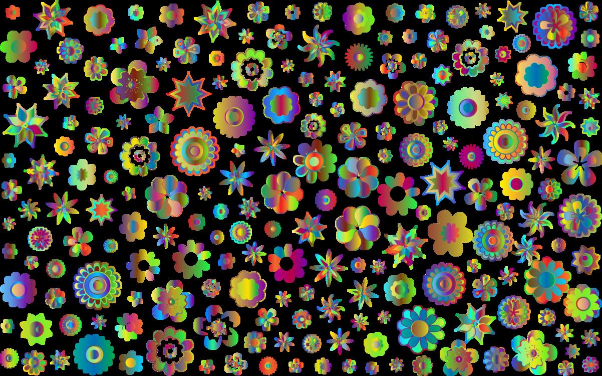 Flora,Art,Symmetry