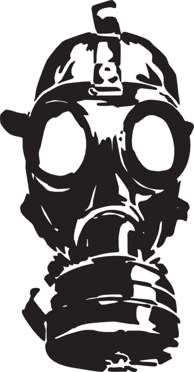 Head,Monochrome Photography,Gas Mask