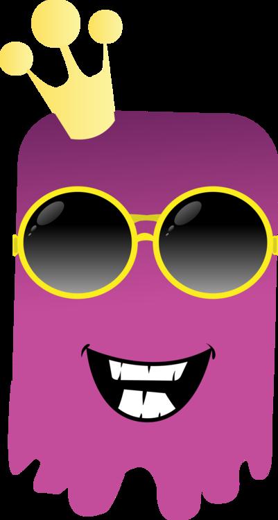 Pink,Emoticon,Sunglasses