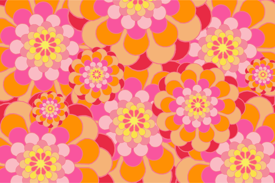 Pink,Flower,Yellow
