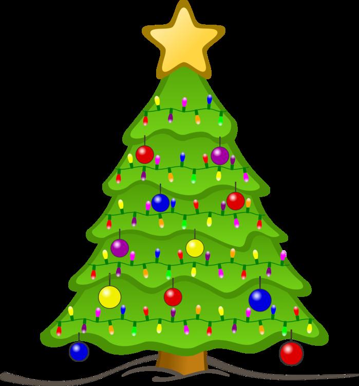Christmas tree Animation Christmas lights Christmas ornament free ...