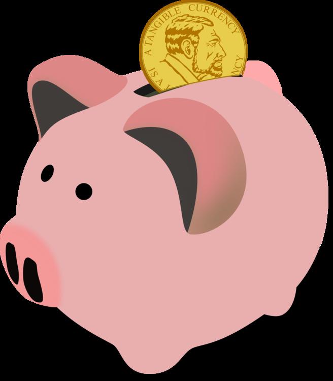 Pink,Piggy Bank,Saving