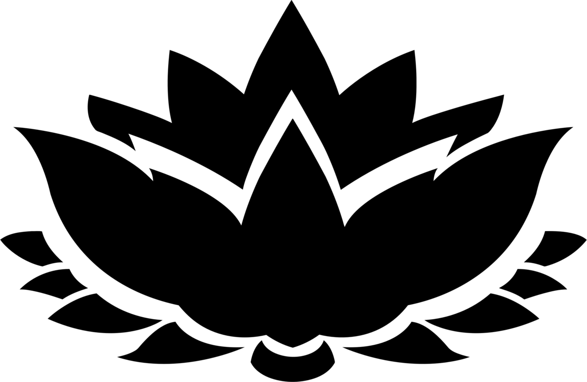 Nelumbo Nucifera Drawing Egyptian Lotus Nymphaea Lotus Silhouette