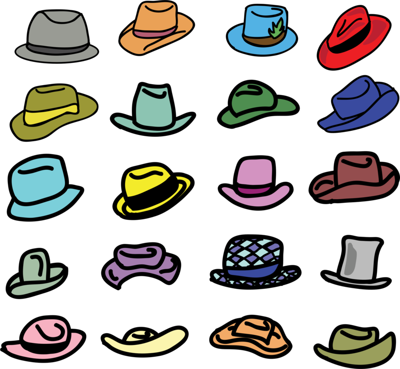 Cowboy hat Party hat Top hat Baseball cap free commercial clipart ... f36ffcf9a79