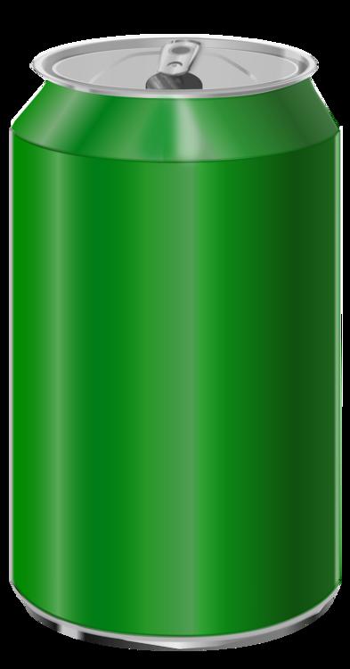 Aluminum Can,Lid,Green