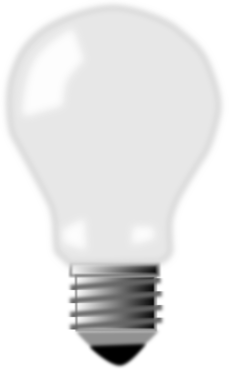 Incandescent Light Bulb Lamp Electricity Drawing Free Commercial