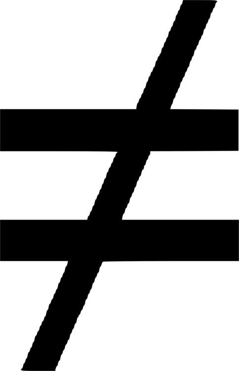 Equals Sign Equality Symbol Mathematical Notation Mathematics Free