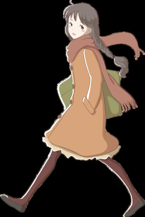 Cartoon Drawing Anime Manga Public Domain Cc0 Joint Sitting Brown