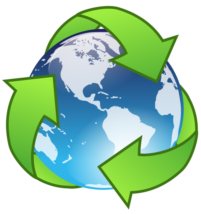 Earth Day Recycling Symbol Waste Hierarchy Free Commercial Clipart