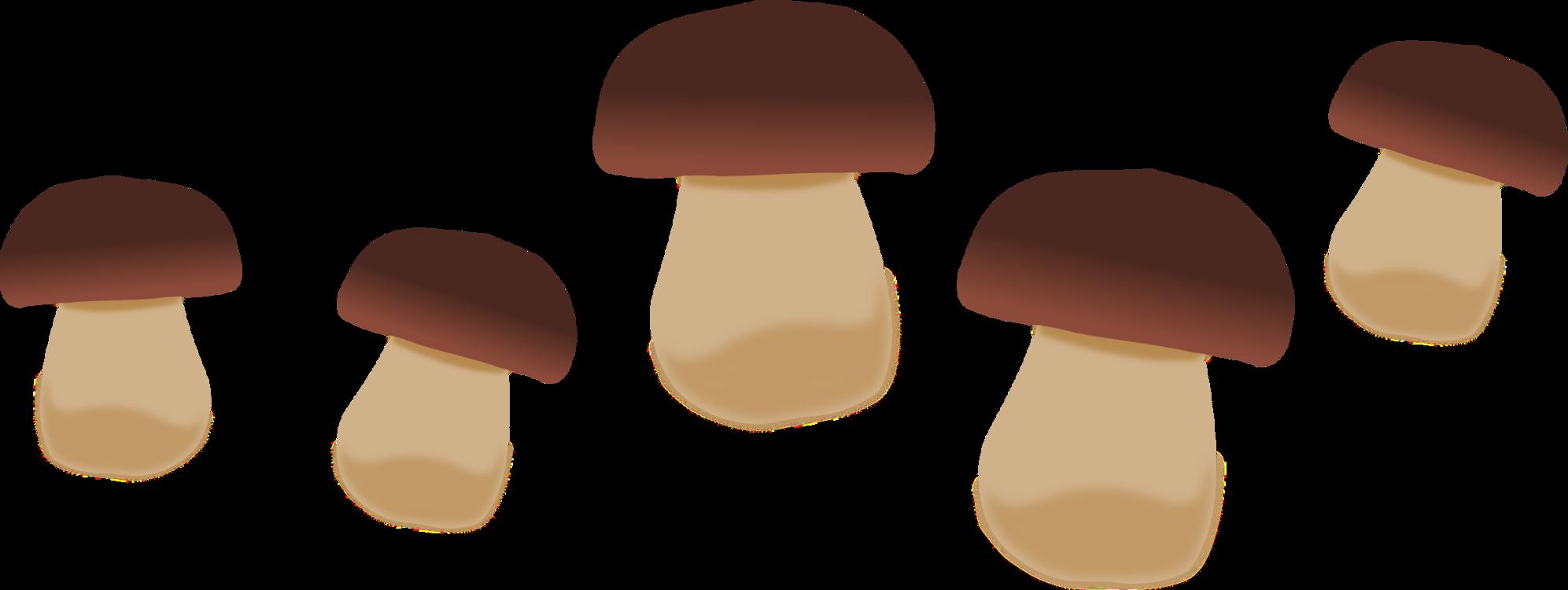 Brown,Finger,Mushroom