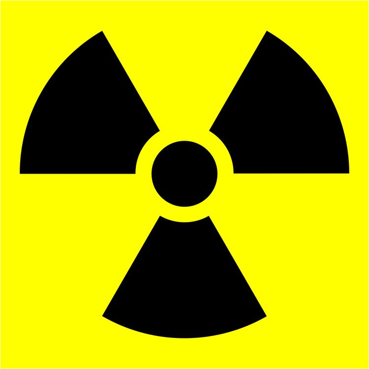 Radioactive Decay Nuclear Power Ionizing Radiation Hazard Symbol