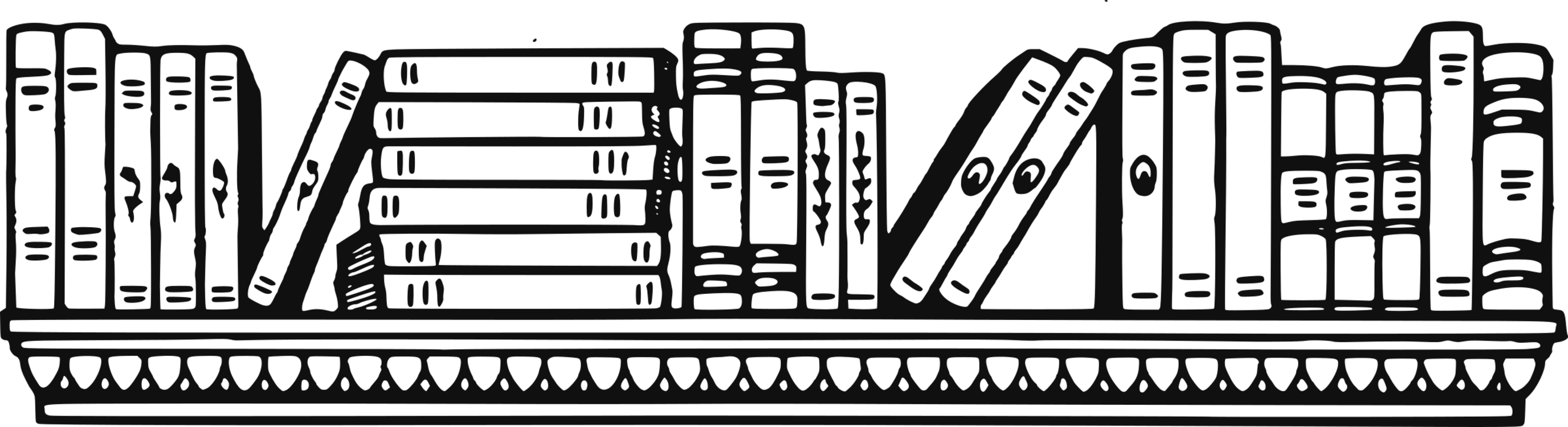 Image result for bookshelf drawing free domain