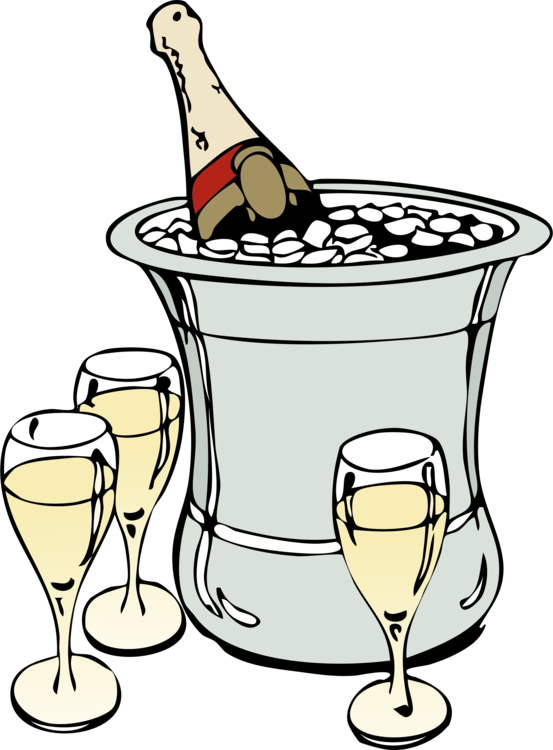 Champagne glass Wine Computer Icons Bottle