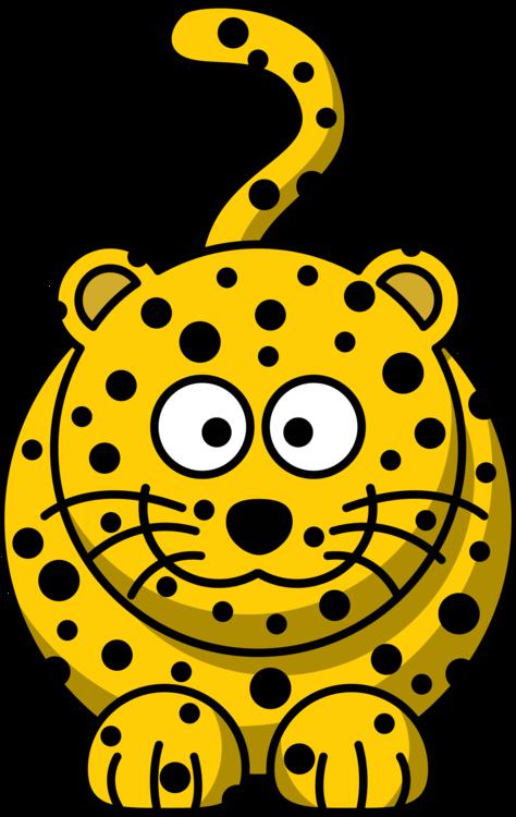 Felidae Cartoon Cheetah Jaguar Indian leopard