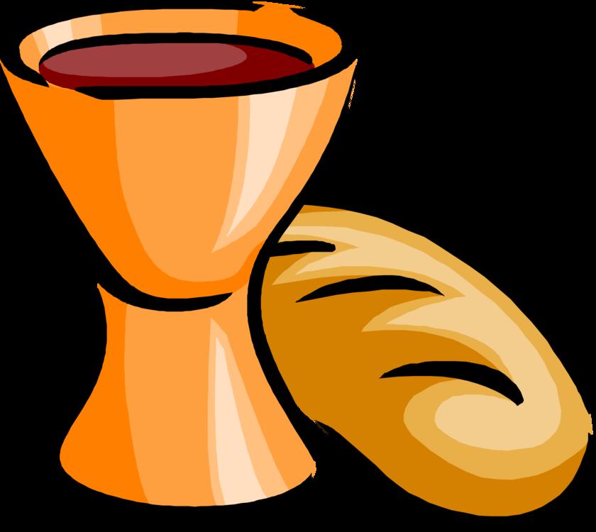 Wine White bread Eucharist Sacramental bread