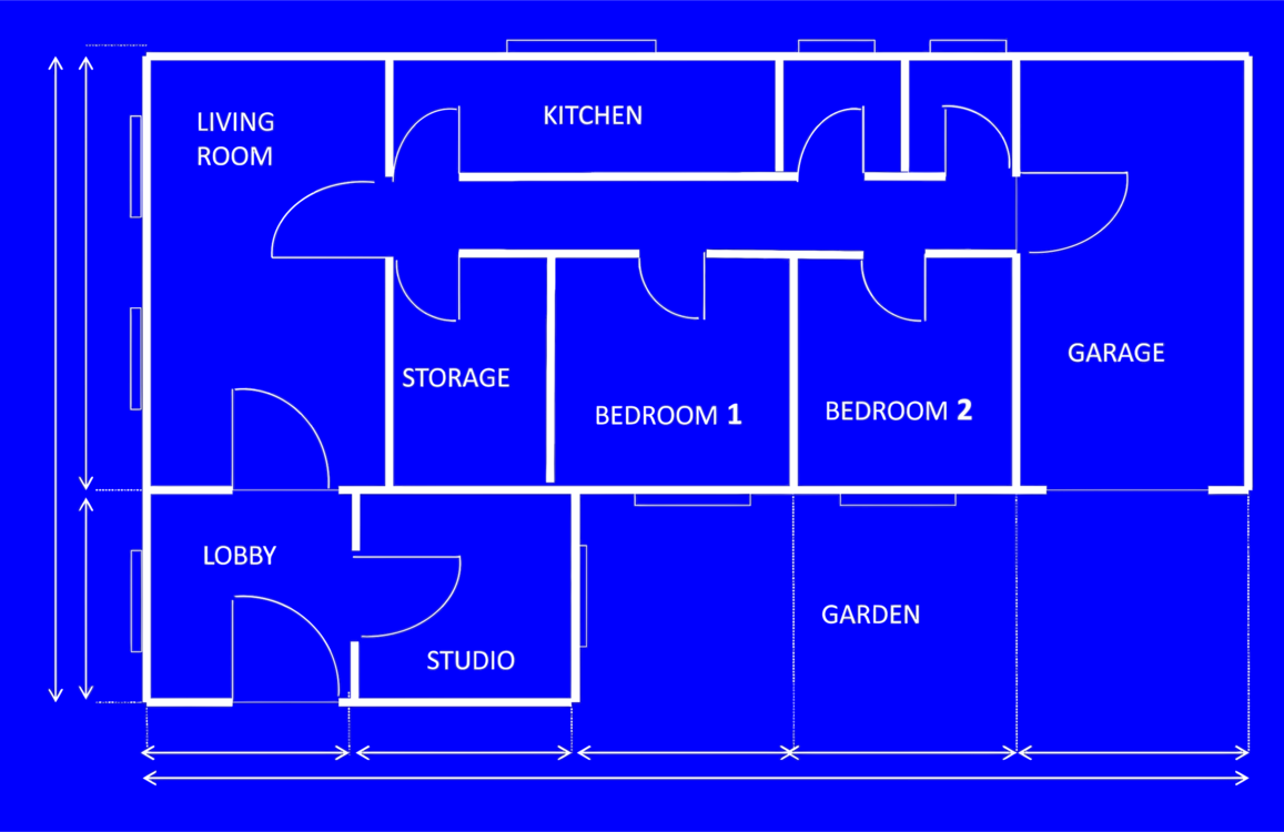 Blueprint House Plan Architecture