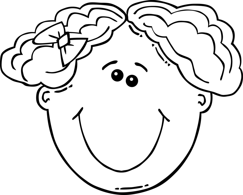 Drawing Smiley Black And White Face Cartoon Free Commercial Clipart