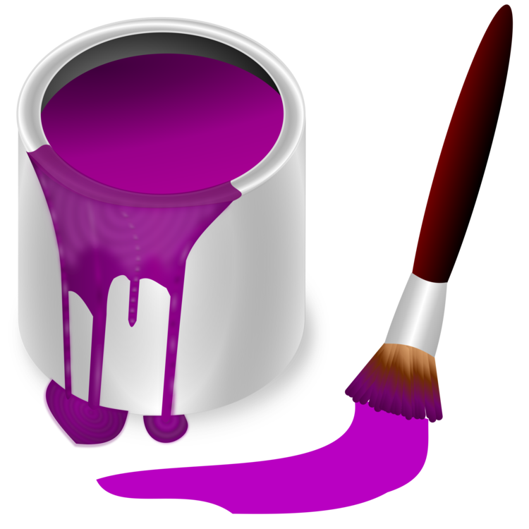 Purple,Brush,Magenta